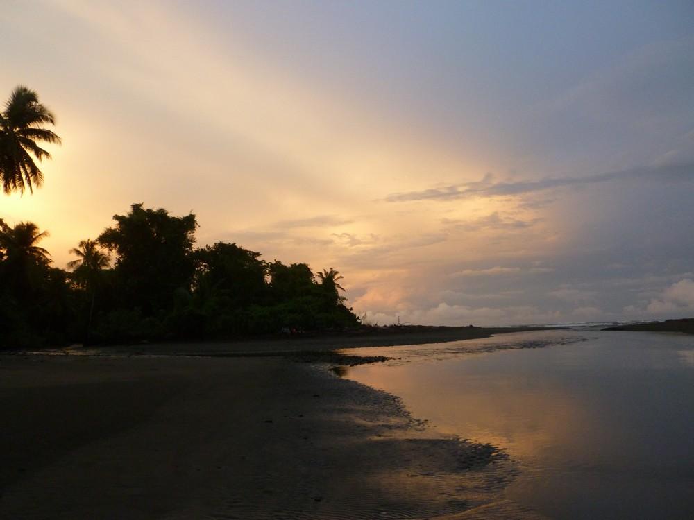 lever de soleil corcovado costa rica