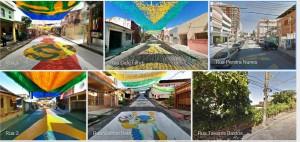 peintures de rue brésil googlestreet view