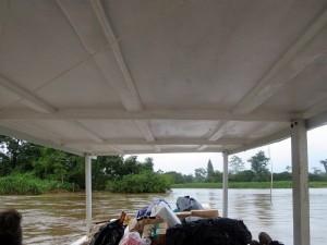 bateau se rendre à tortuguero