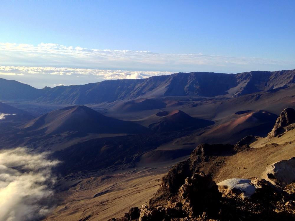 Heleakala crater