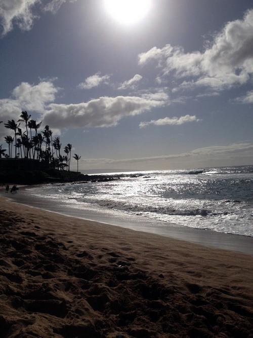 Napula plage maui hawaï v2
