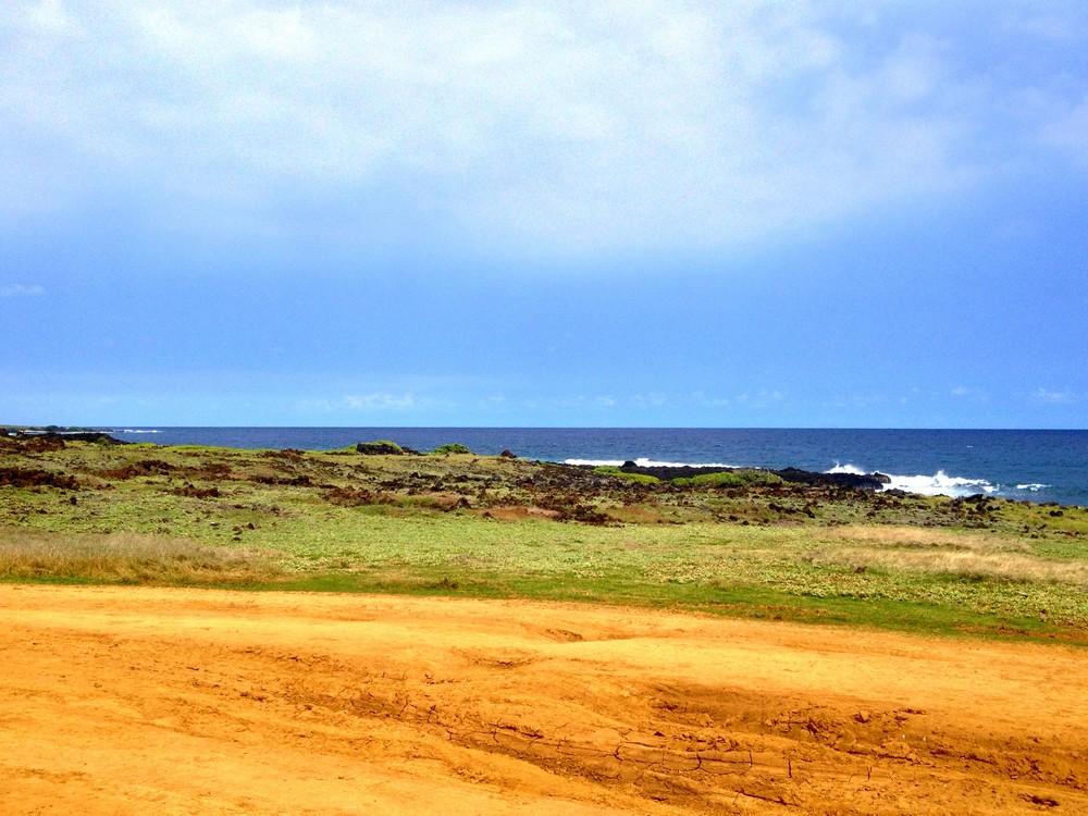 plage de sable vert voir big island
