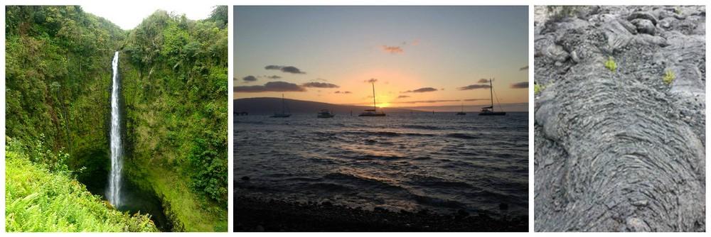 hawaii paysages variés