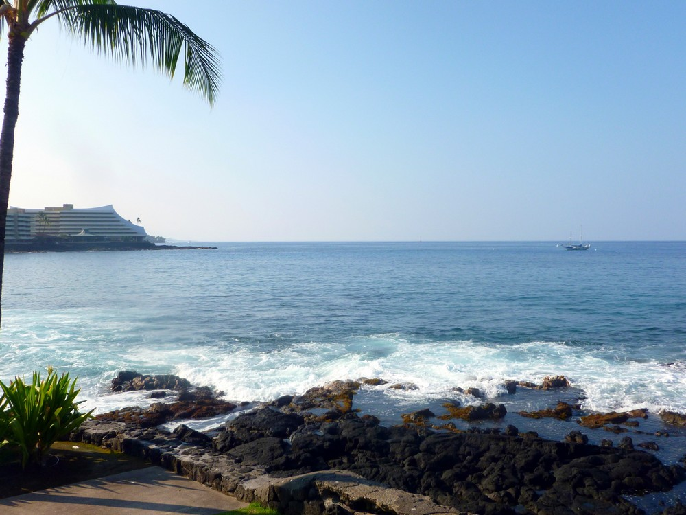 kona hawaï plage