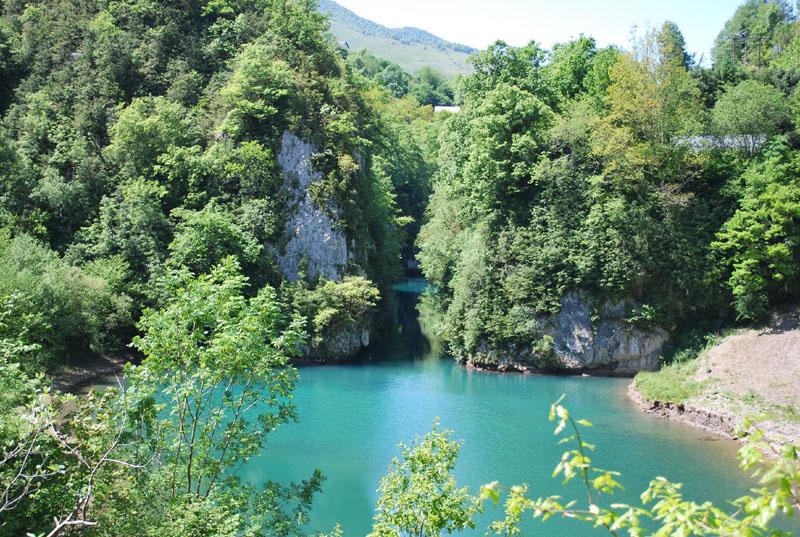 lac kakuetta gorges