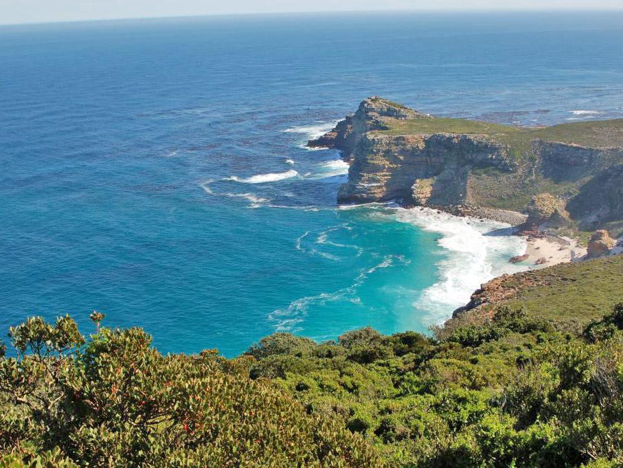 plage afrique du sud océan