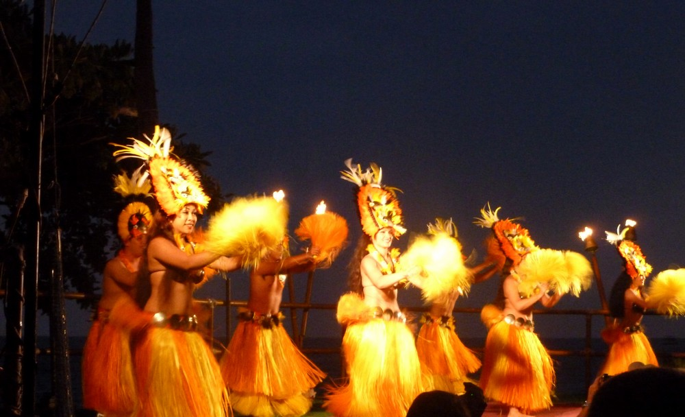 royal kona luau hawaï hula