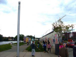 le bout du mur de berlin