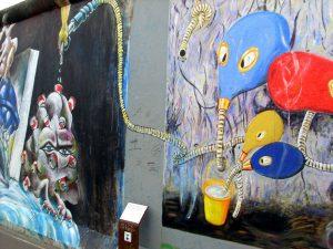 peinture mur de Berlin