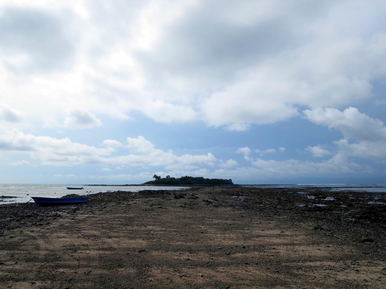 isla cementerio marée basse montezuma costa rica