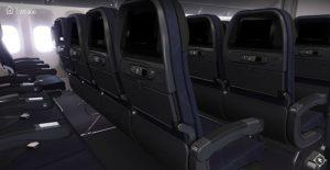 écan sièges  american airlines aménagement avion