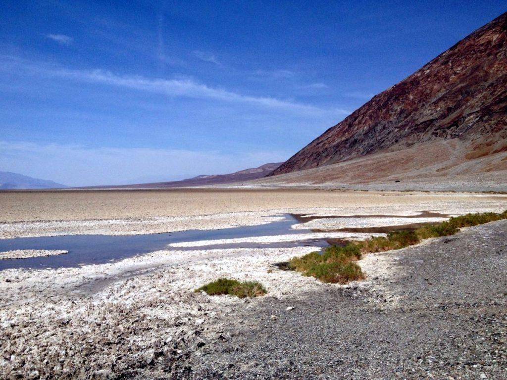 badwater bassin vallée de la mort