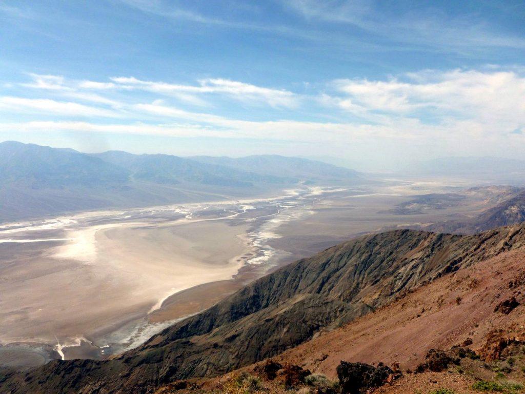 dante's view vallée de la mort
