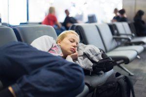 dormir aéroport