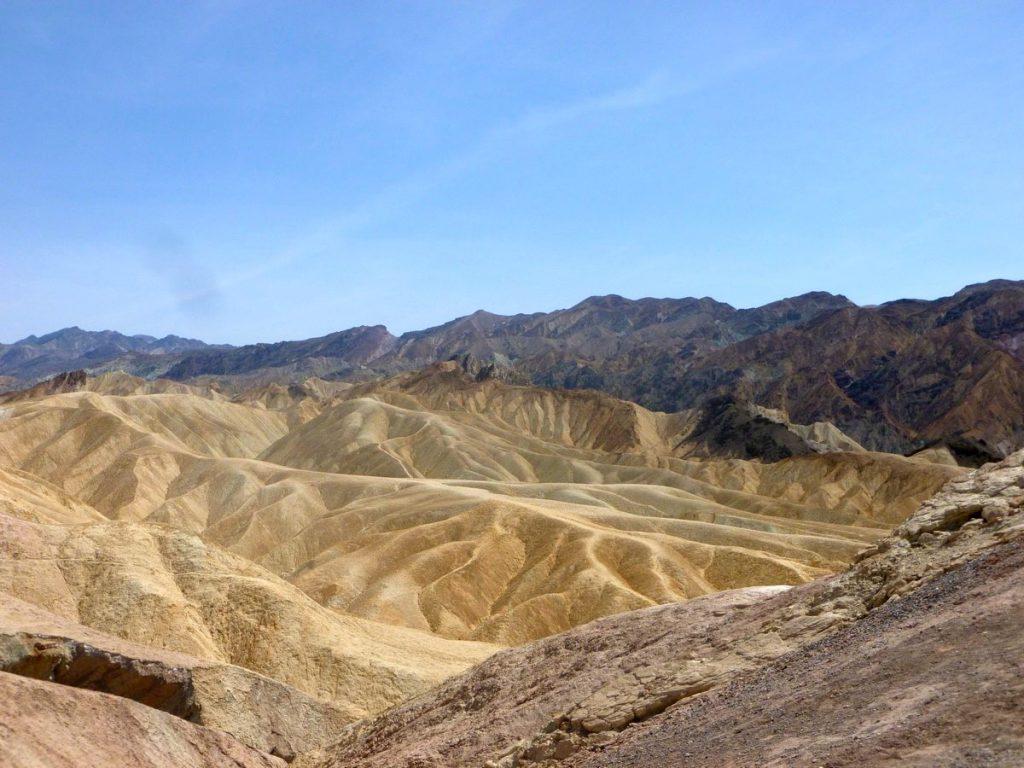 montagnes dante's view death valley