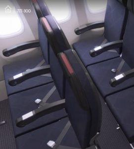 sièges american airlines aménagement avion