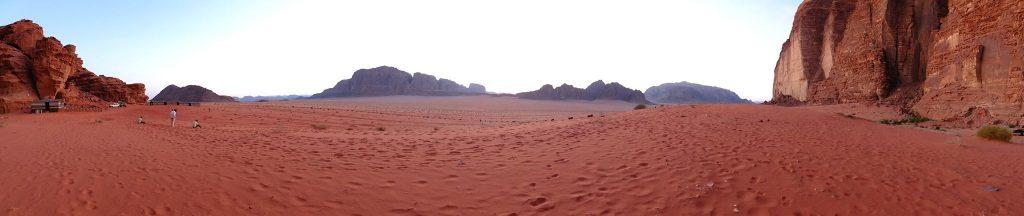 Wadi rum désert rouge