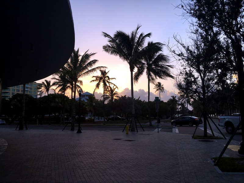 south beach lever du soleil miami
