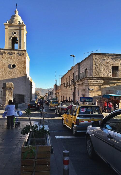 taxis rues arequipa