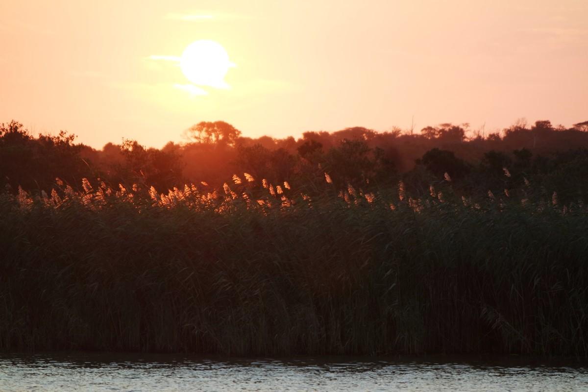 voir coucher de soleil sainte lucie afrique