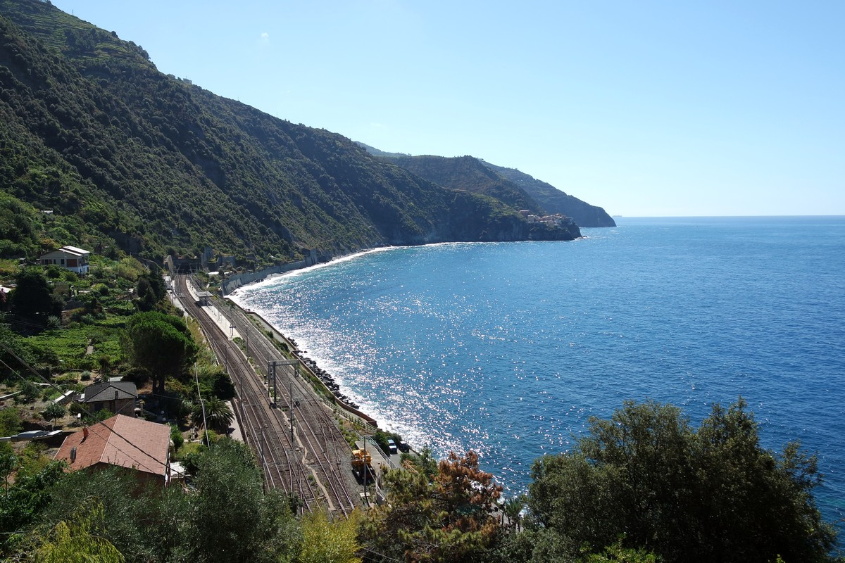 comment aller cinque terre train