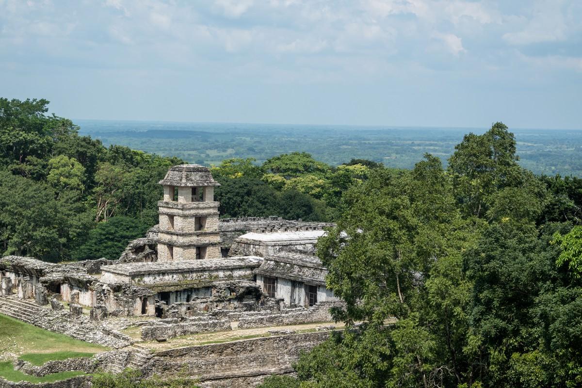cite maya palenque chiapas mexique