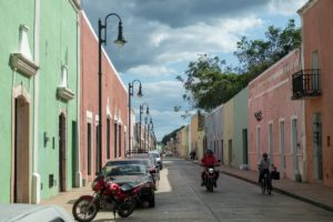 valladolid maisons colorees yucatan